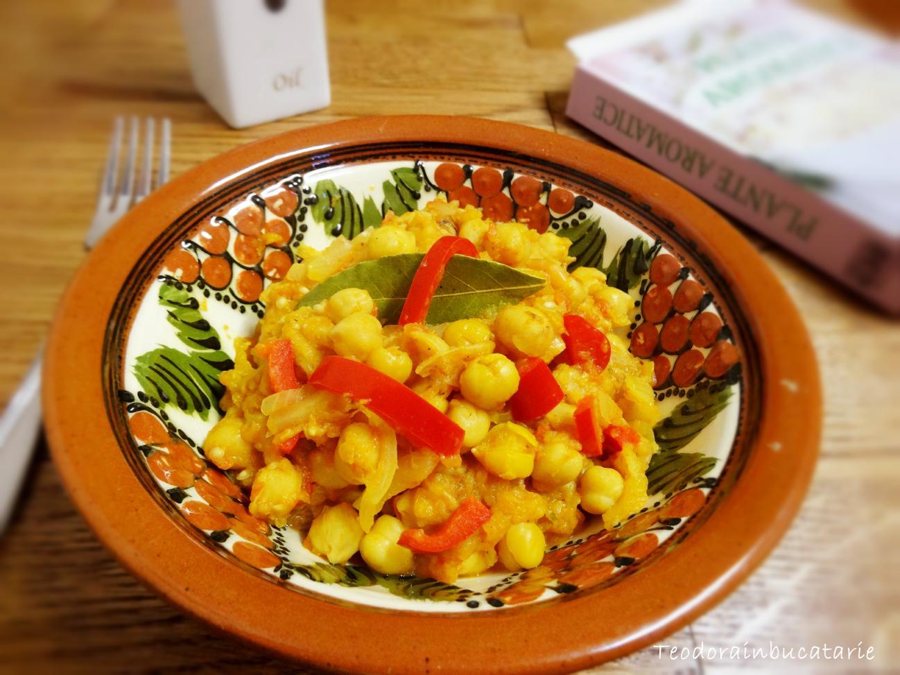 Naut cu curry si vinete